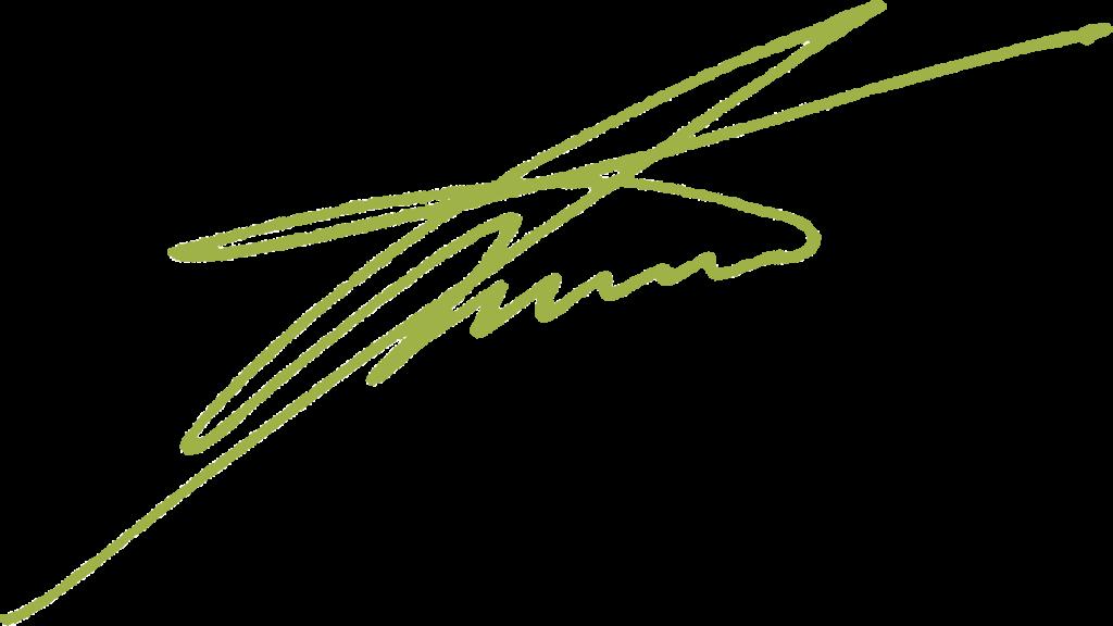 Unterschrift Torsten Anstädt grün